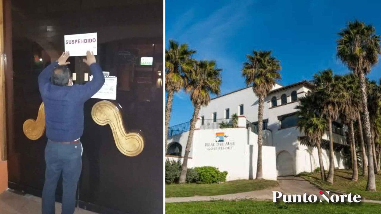 Por aguas residuales y otras irregularidades, cierran Hotel Real del Mar