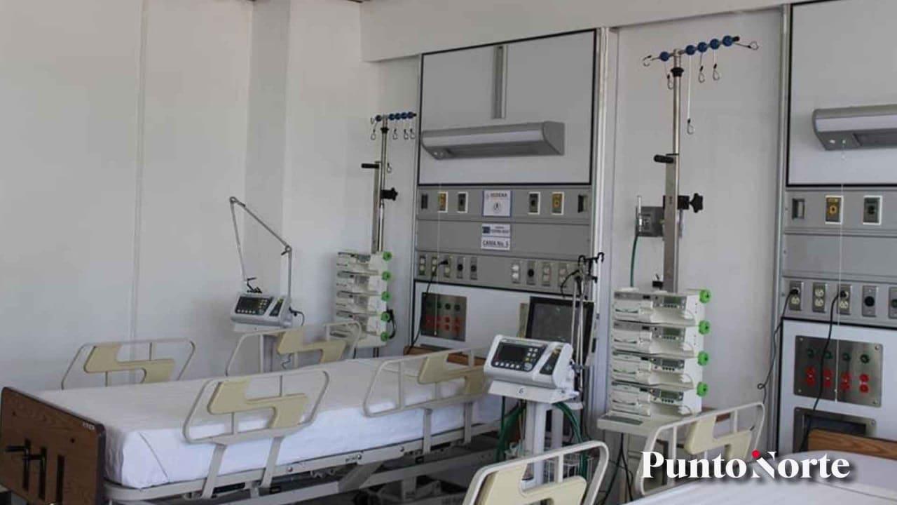 Camas en hospitales COVID son solo para pacientes graves