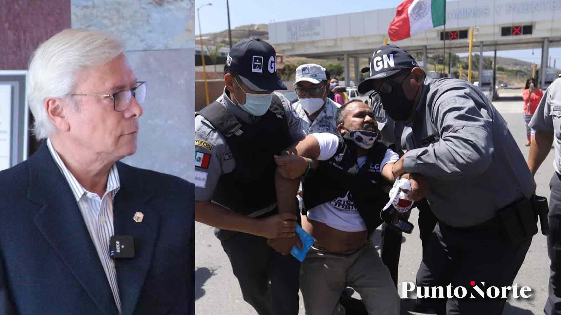 Bonilla pide renuncia del titular de la SCT, fue cobarde y gangsteril el actuar de la Guardia Nacional