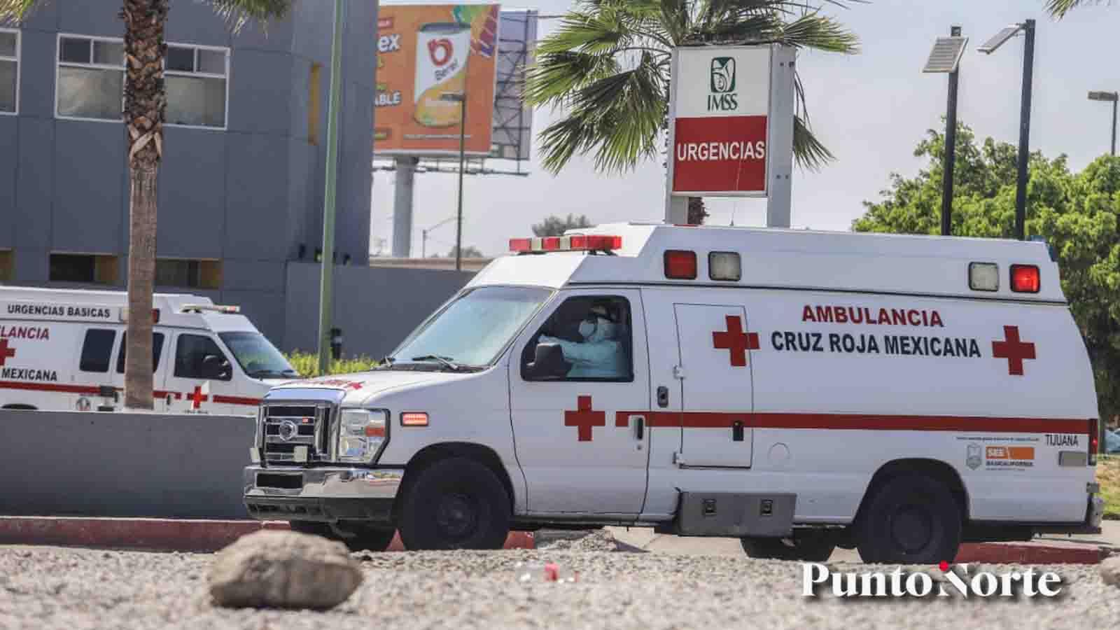 Paciente con COVID escapó de hospital en Tijuana