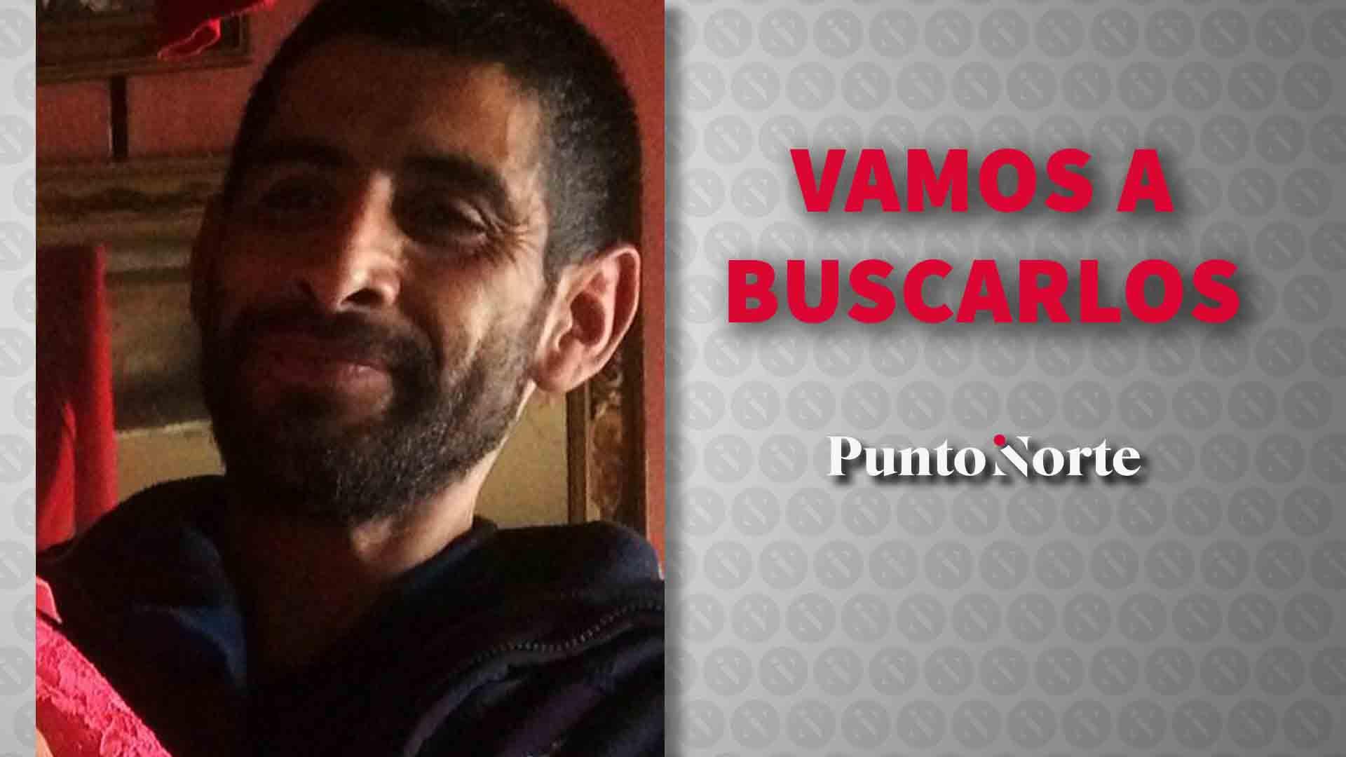 Andrés Garibay Cano de 36 años, es de tez morena
