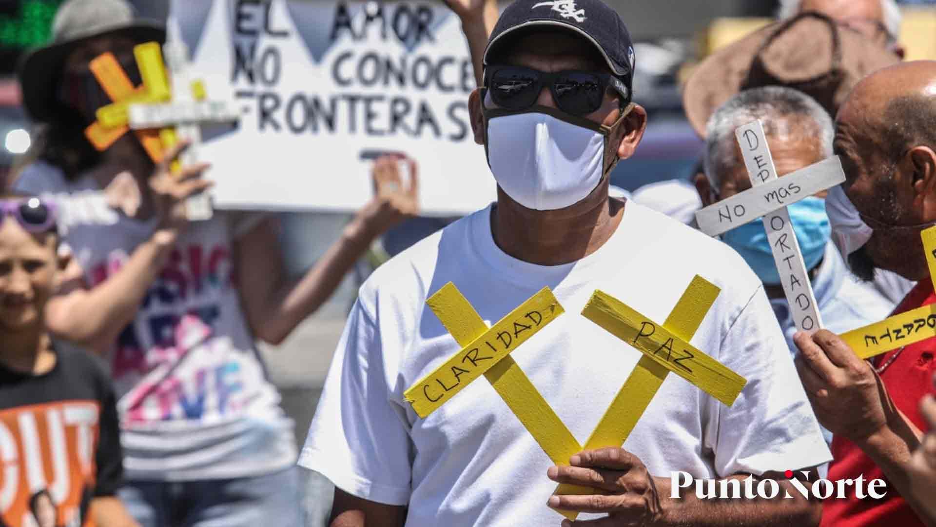 En Tijuana también protestaron por encuentro AMLO-Trump