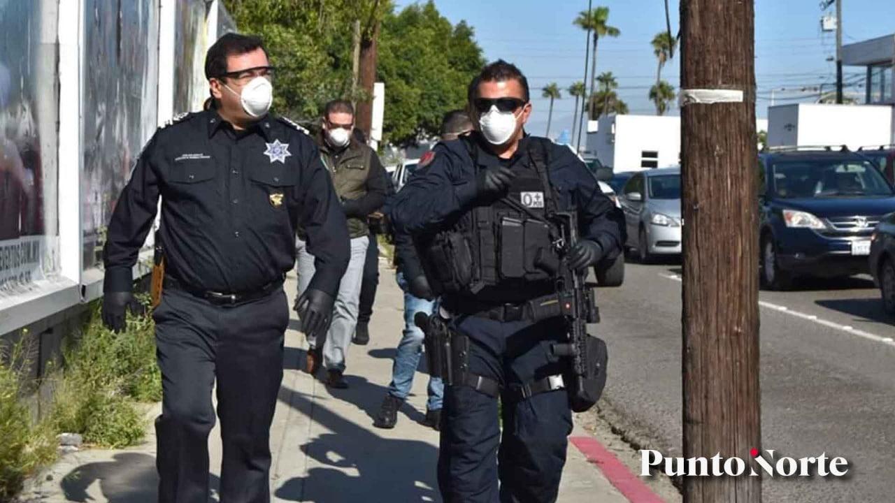 Insiste secretario que policías reciben equipo de protección para COVID-19, han muerto 6 agentes
